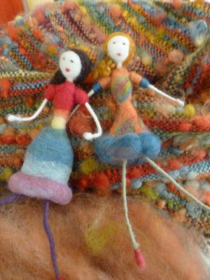 felted dolls