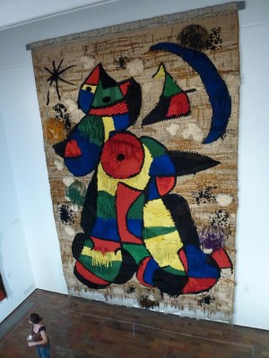 Miro wall-hanging in Barcelona