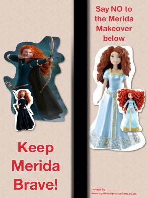 Agi K campaign poster for keep Merida brave