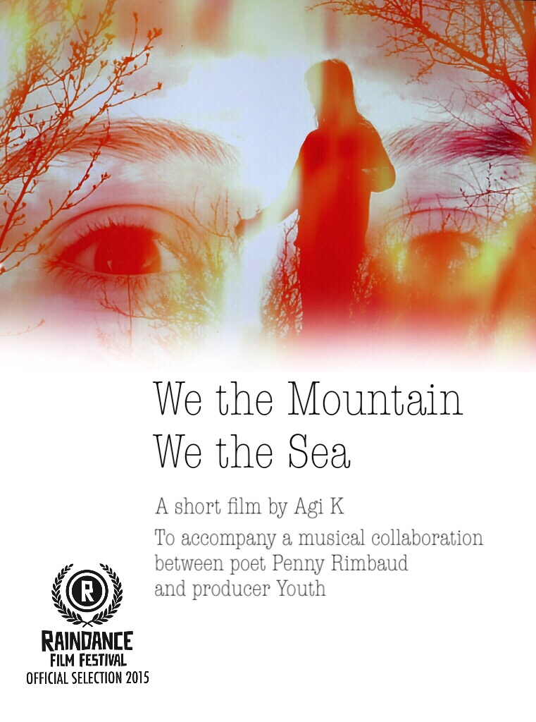 Poster for short by Agi K-We the Mountain, We the Sea'