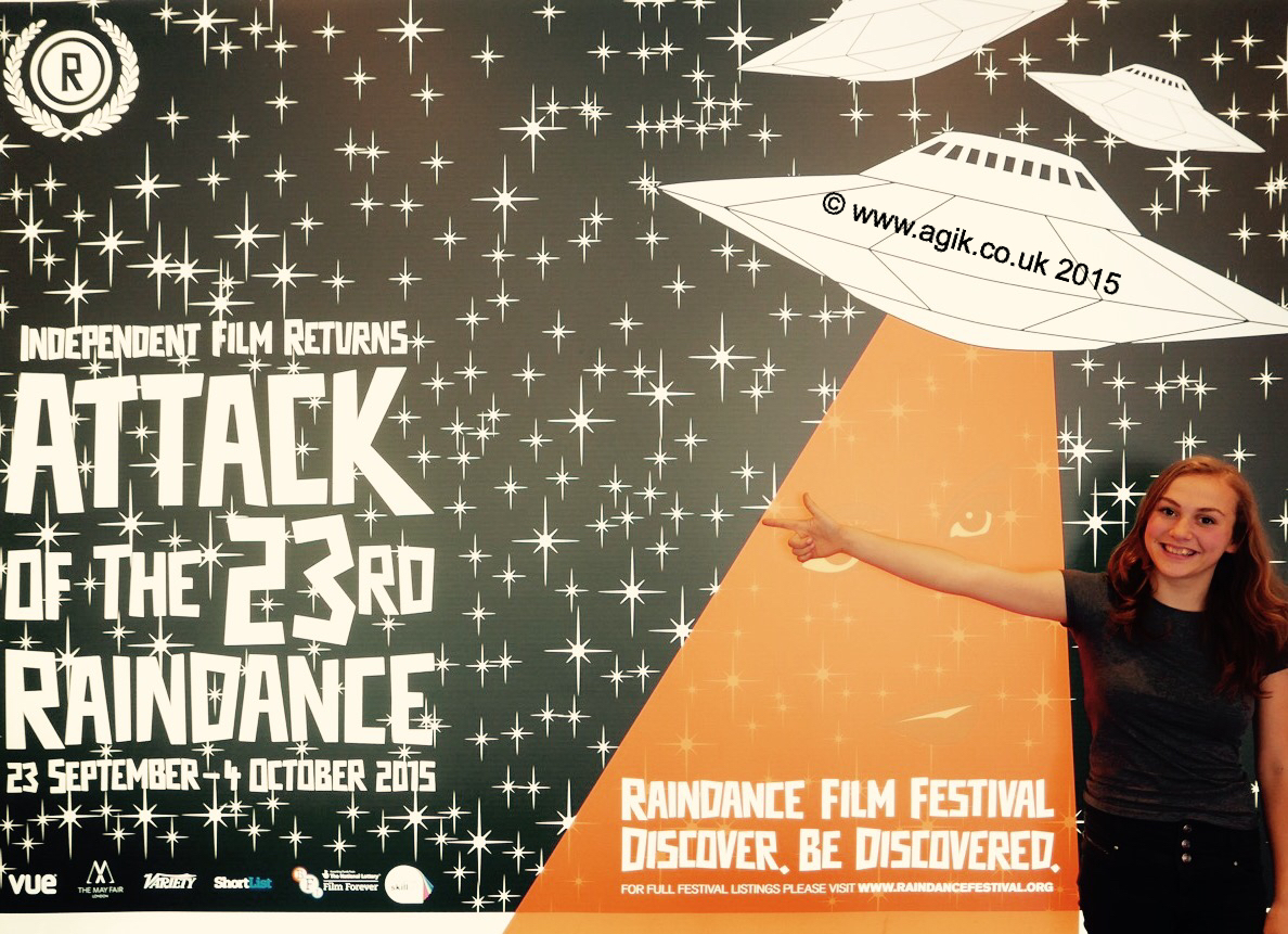 Agi K at Raindance Film Festival 2015