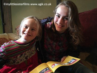 Agi K & Magdalena with the Wyeside programme