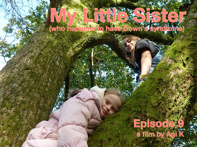 Episode 9 My Little Sister (who happens to have Down's syndrome) poster