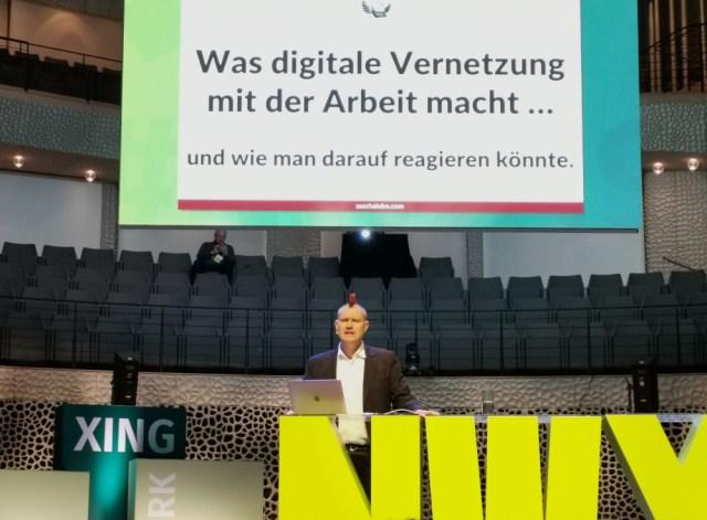 Sascha Lobo über die Auswirkungen der Digitalisierung auf die Arbeit
