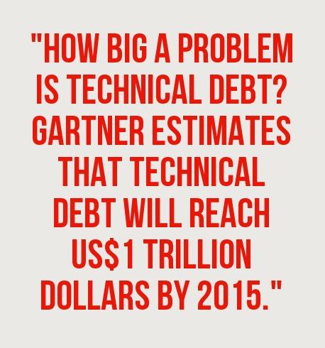 larry apke, technical debt, sd times