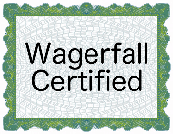 wagerfall certification