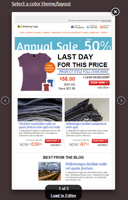 New Email Templates Agile CRM Blog - Best ecommerce email templates