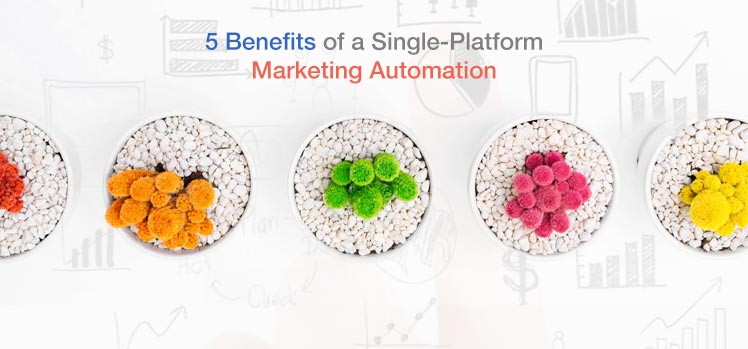 5 benefits of a single-platform marketing automation solution