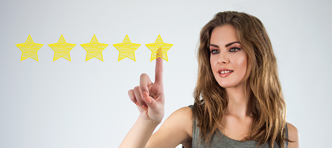 Make it easy for customers to leave feedback
