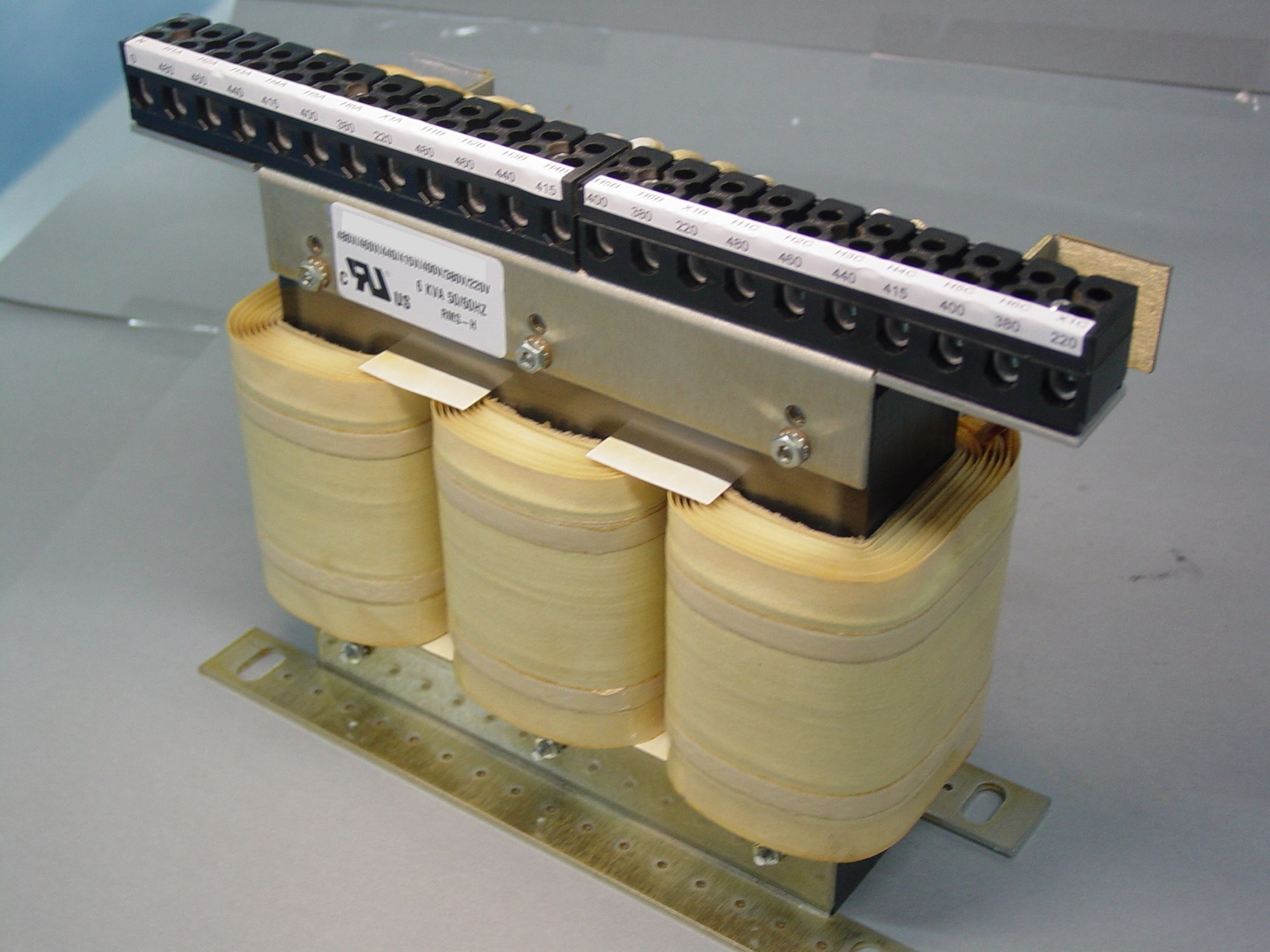 hight resolution of 3 phase autotransformer