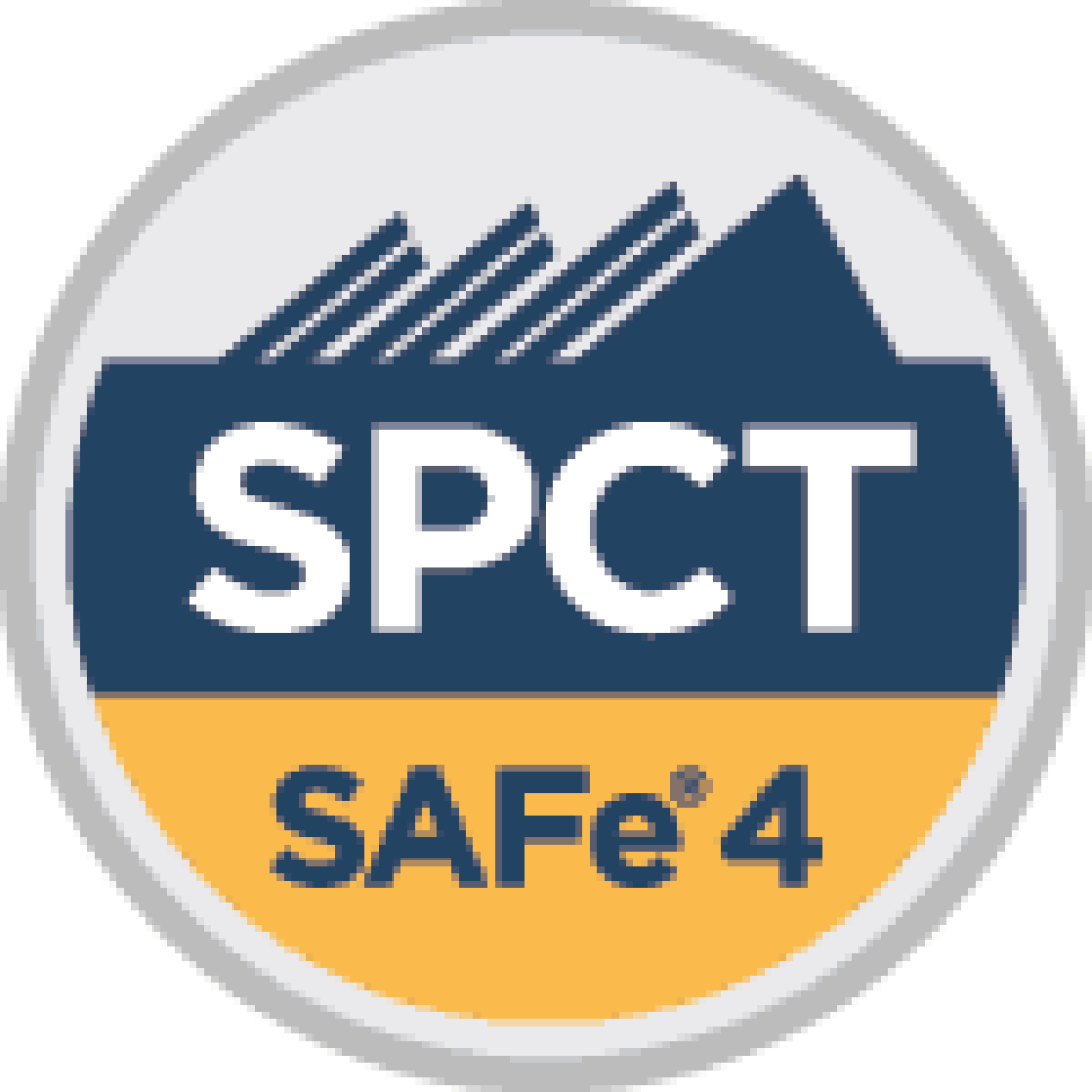 Implementing the scaled agile framework safe w spc4 safe spct professional scrum trainer pst enterprise agileagile marketing transformations consultant head of agilesparks usa cto xflitez Image collections