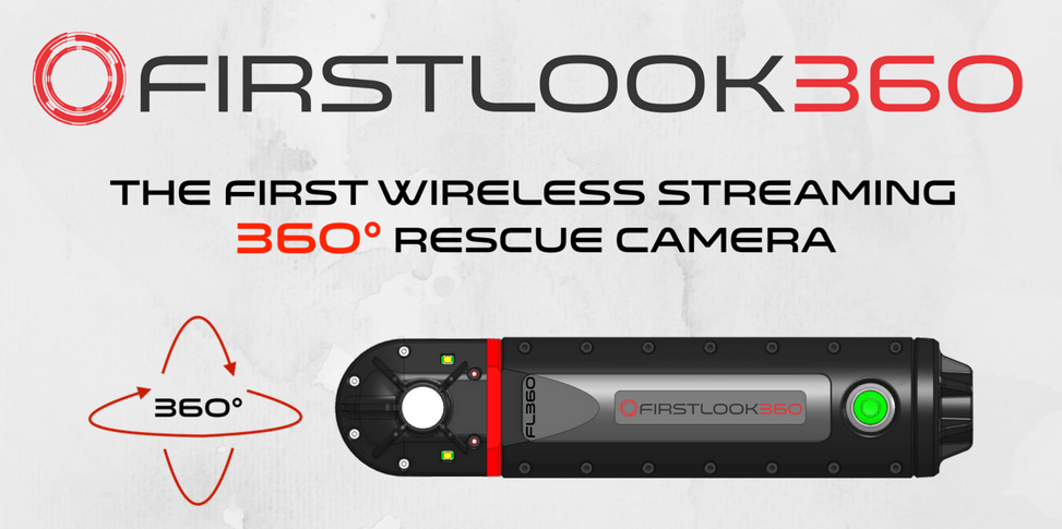 FIRSTLOOK360 – The First Wireless Streaming 360° Rescue Camera