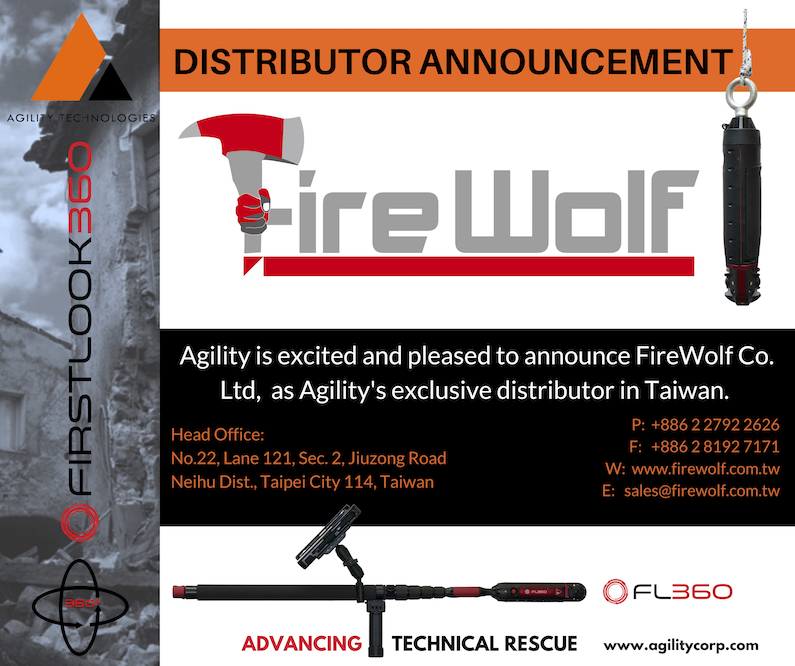 NEW Distribution Partner – FireWolf Co. Ltd. (Taiwan)