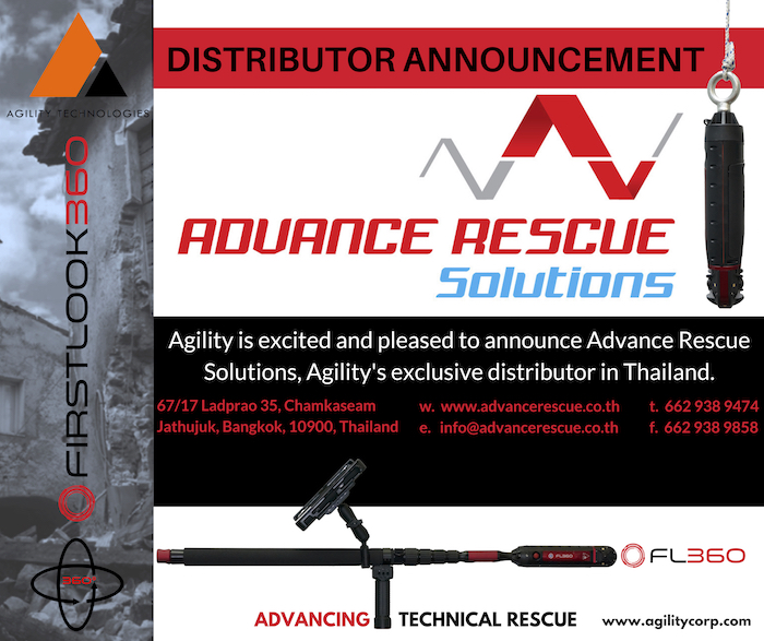 NEW Distribution Partner – Advance Rescue Solutions Co. Ltd. (Thailand)