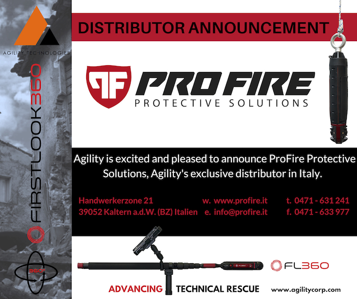 NEW Distribution Partner – Pro Fire Protective Solutions Co. (Italy)