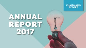 Chairman's Annual Report 2017