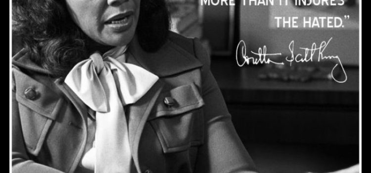 Inspiring Quotes by Coretta Scott King