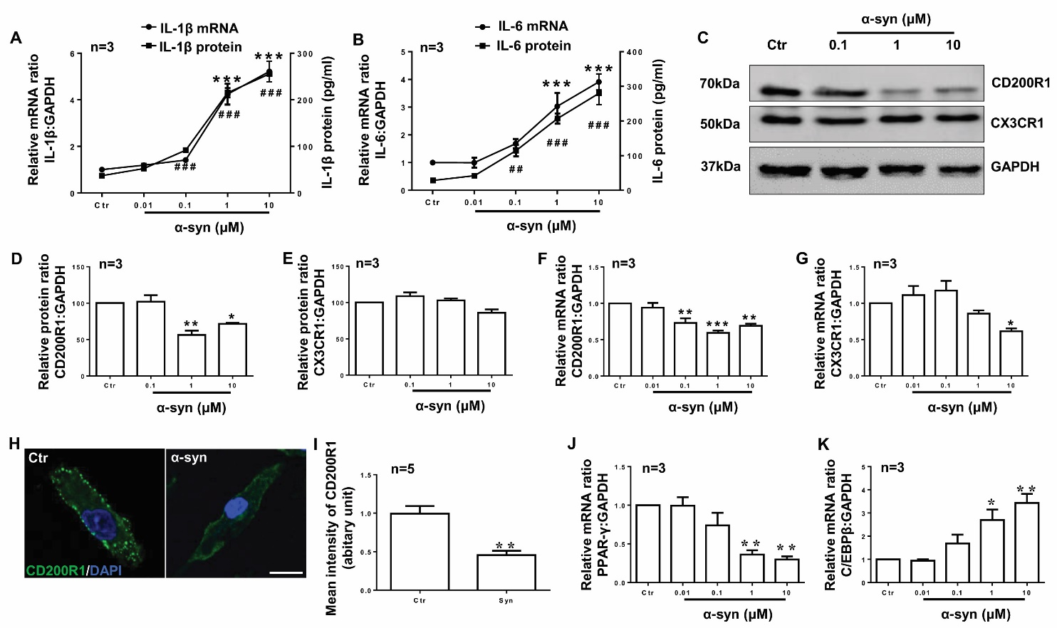 hight resolution of figure 4 cd200r1 is more sensitively regulated by syn in microglia primary cultured microglia were prepared from cerebral cortices of sd rats p0 and