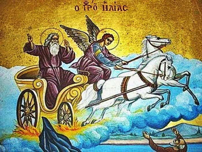 Μνήμη τοῦ Ἁγίου Ἐνδόξου Προφήτου Ἠλιοὺ τοῦ Θεσβίτου (20 Ιουλίου)