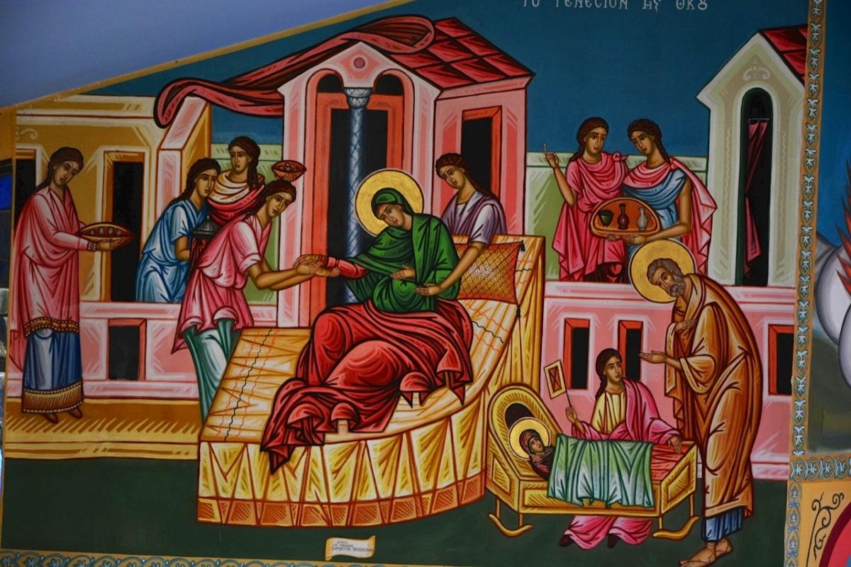 Υμνολογικό απάνθισμα της εορτής του Γενεσίου της Θεοτόκου