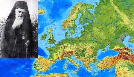 Αποτέλεσμα εικόνας για αγιος νικολαος βελιμιροβιτς ευρωπη