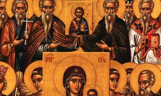 Κυριακή Α΄ Νηστειών (Ορθοδοξίας). «Αὔτη ἡ πίστις τῶν Ἀποστόλων, αὔτη ἡ πίστις τῶν Πατέρων, αὔτη ἡ πίστις τών Ορθοδόξων, αὔτη ἡ πίστις τήν Οἰκουμένην ἐστήριξεν».