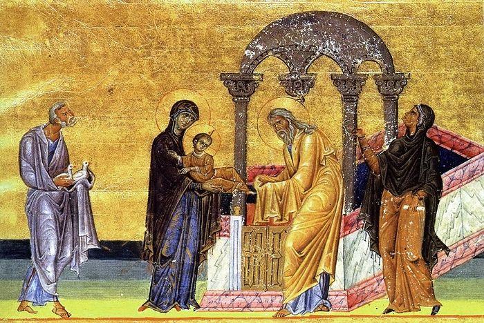 Ομιλία Αγίου Γρηγορίου του Παλαμά στην Υπαπαντή του Κυρίου
