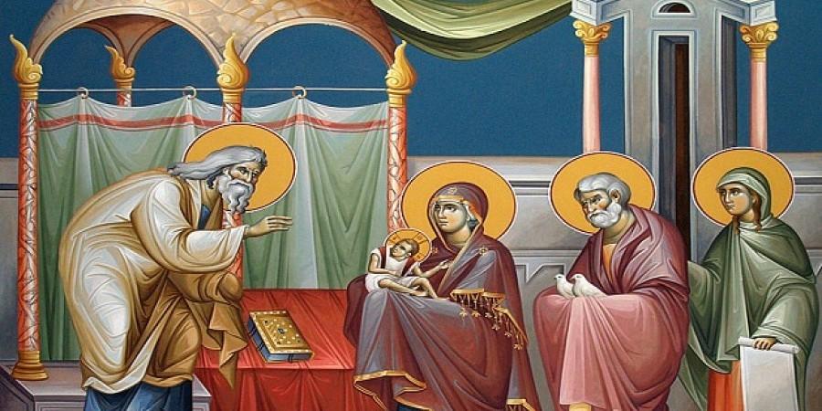 Η Υπαπαντή του Κυρίου μας  (Μέγας Εσπερινός και Όρθρος)
