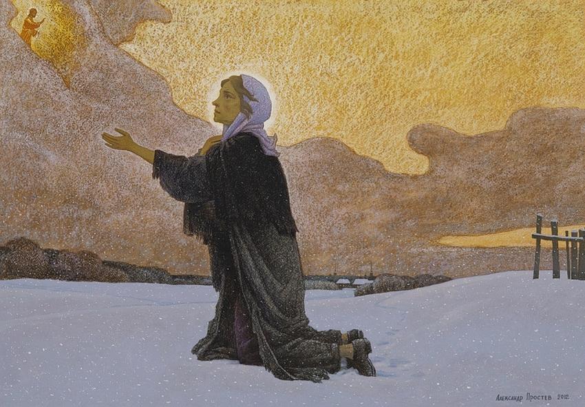 Ο συγκλονιστικός βίος της Οσίας Ξένης της δια Χριστόν Σαλής