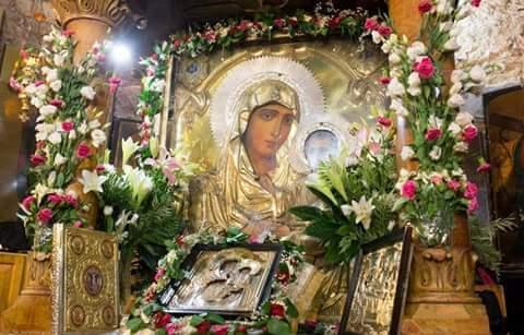 Η συνάντηση του Αγίου Διονυσίου του Αρεοπαγίτου με την Παναγία
