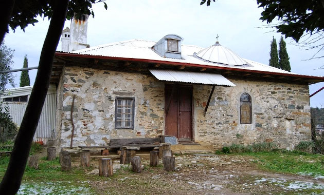 Το αγιασμένο κελί της Παναγούδας