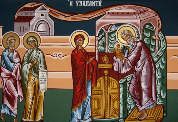 Ο Άγιος Συμεών ο Δίκαιος ο Θεοδόχος