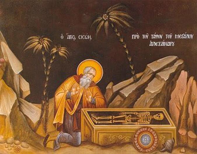 Ὁ Ὅσιος Σισώης ὁ Μέγας – Βίος καὶ ὠφέλιμα ρητά (Ἡ μνήμη του τιμᾶται στὶς 6 Ἰουλίου)