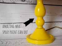 the power of DIY....a lamp redo tutorial - A girl and a ...