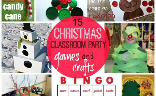 Games For Christmas Classroom Parties A Girl And A Glue Gun