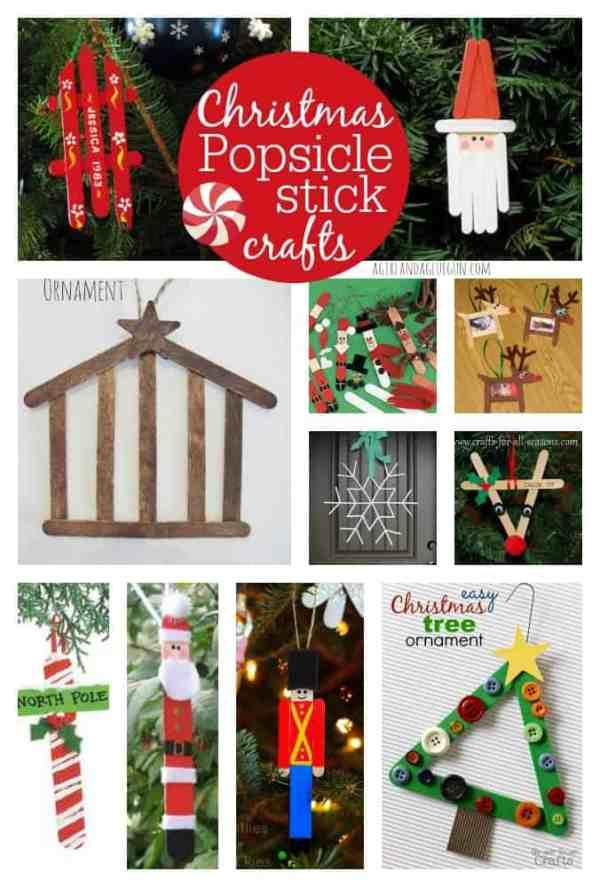 christmas ornaments popsicle sticks # 15