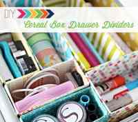 Magazine organizers....from cereal boxes! and a whole slew ...