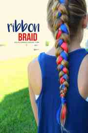 fourth of july hair - girl
