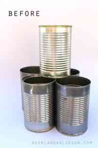 5 Fun things to do with tin cans - My Mommy Style