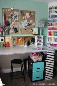 craft room tour! - A girl and a glue gun