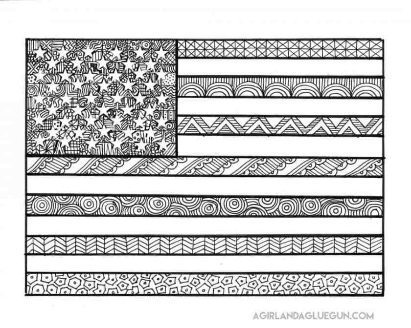 free patriotic coloring pages  sugar bee crafts