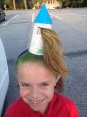 crazy hair day - girl