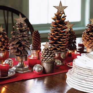 Pine Cone Ornaments For Christmas