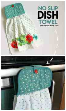 Sewing Projects Dish Towel - Year of Clean Water