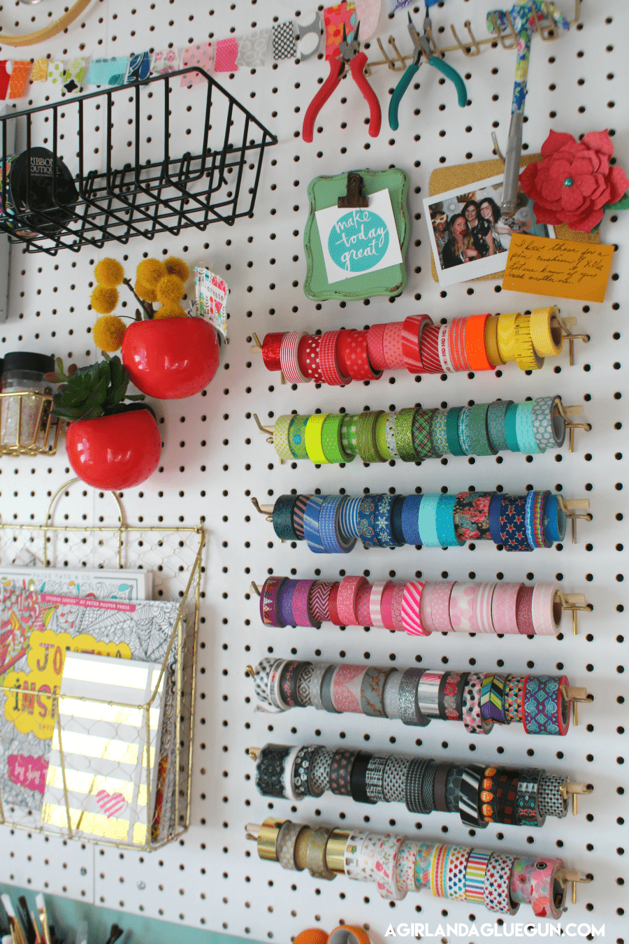 Organizing My Craft Room A Girl And A Glue Gun