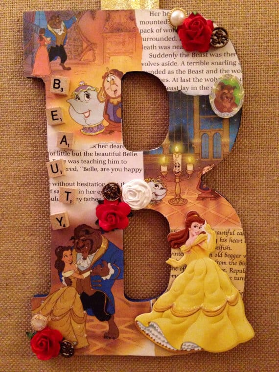Beauty and the Beast roundup  A girl and a glue gun