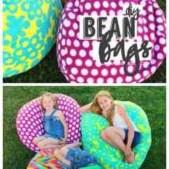 Bean Bags Chair Low Beach Chairs Walmart How To Make A Bag - Girl And Glue Gun