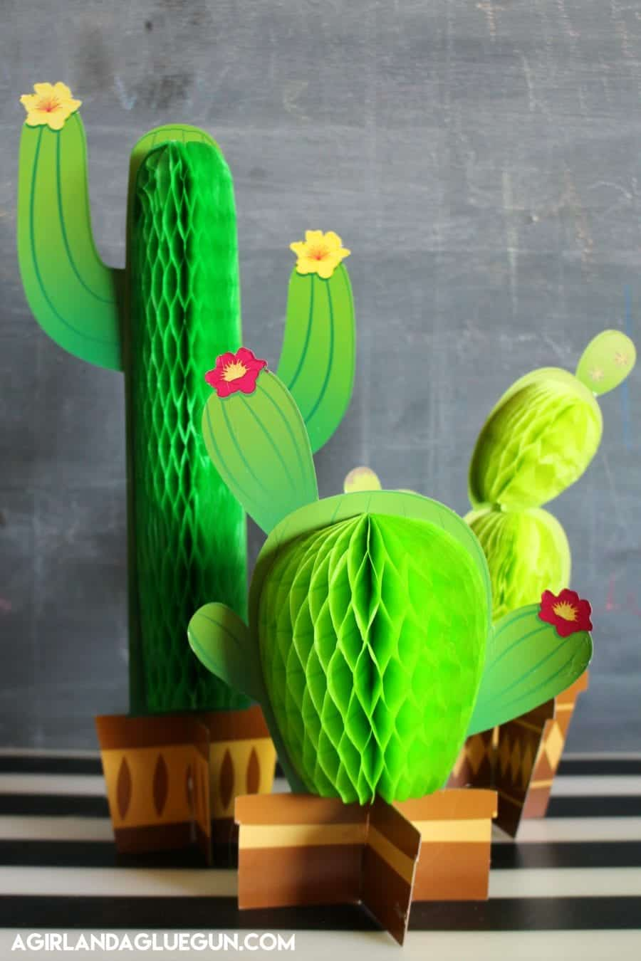 Cactus Diy Roundup  A girl and a glue gun