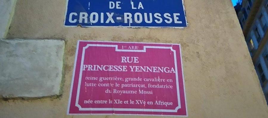 Lyon : des rues des pentes de la Croix Rousse rebaptisées par des féministes