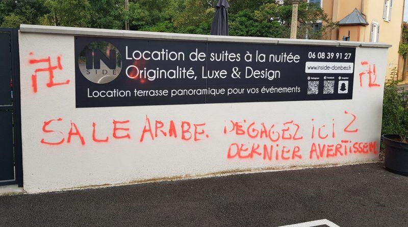 Vandalisme raciste ça suffit !
